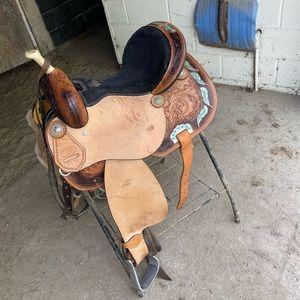 "14"" Circle S Barrel Saddle"